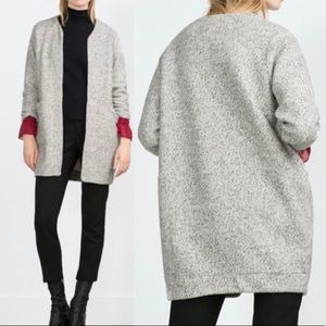 Zara WB Collection fleece Cardigan sweater